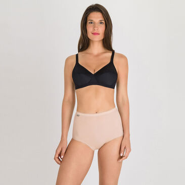 2 Maxi briefs in Skin tone – Stretch Cotton-PLAYTEX