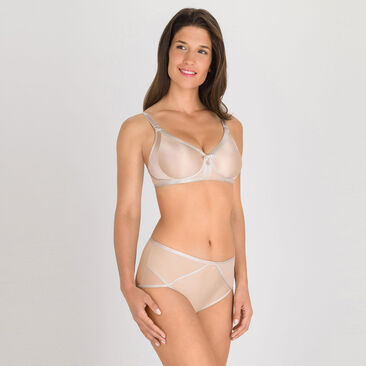 Non-wired Bra in Skin tone - Ideal Beauty-PLAYTEX