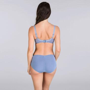 Denim blue Midi brief - Cross your Heart Lace-PLAYTEX