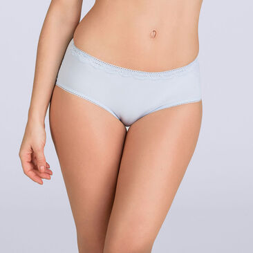 Lilac blue Midi brief - Invisible Elegance-PLAYTEX