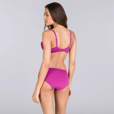 Purple fuchsia full cup bra - Flower Elegance-PLAYTEX