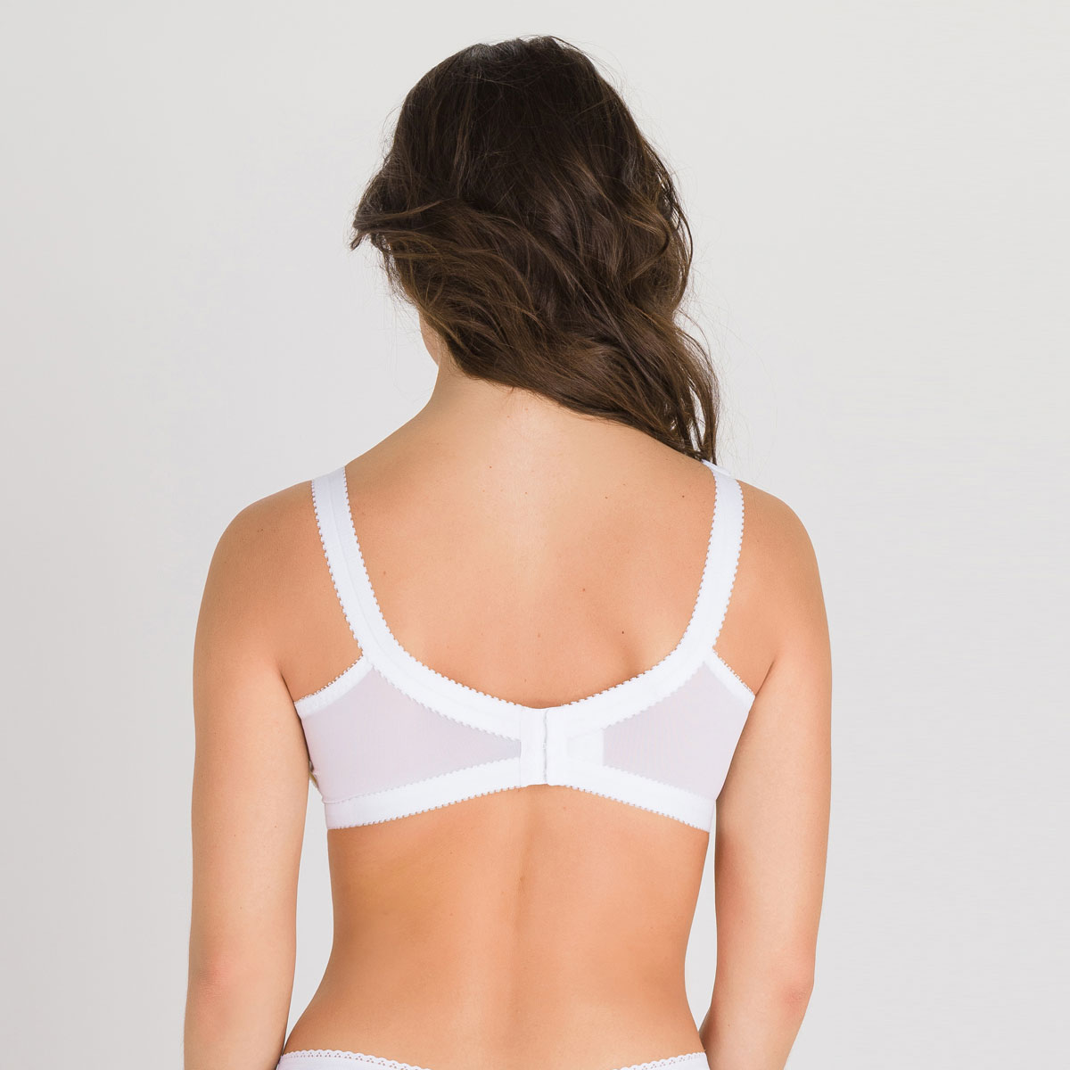 Non-wired Bra in White – Cross Your Heart 152-PLAYTEX