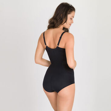 Shaping Body in Black – Silhouette Control-PLAYTEX