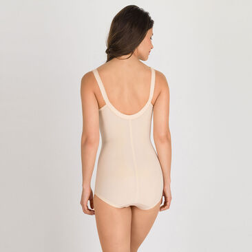 All in one girdle in beige – I Can't Believe It's A Girdle-PLAYTEX