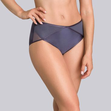 Steel grey midi briefs - Ideal Beauty-PLAYTEX