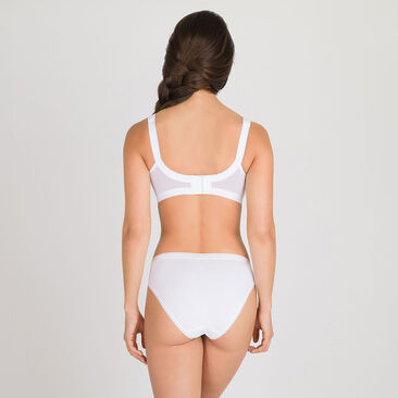 Non-wired Bra in White – Cross Your Heart 165-PLAYTEX