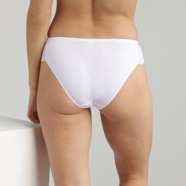 Bikini Knickers in White Lace Essential Elegance, , PLAYTEX