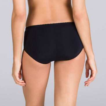 Midi Brief in Black – Classic Lace Support, , PLAYTEX