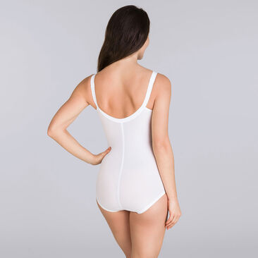 All-in-one Girdle in White – I Can't Believe It's A Girdle, , PLAYTEX