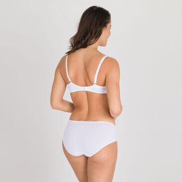 Midi Brief in White – Flower Elegance-PLAYTEX