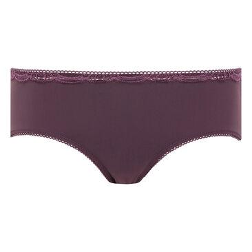 Black plum midi briefs - Invisible Elegance-PLAYTEX