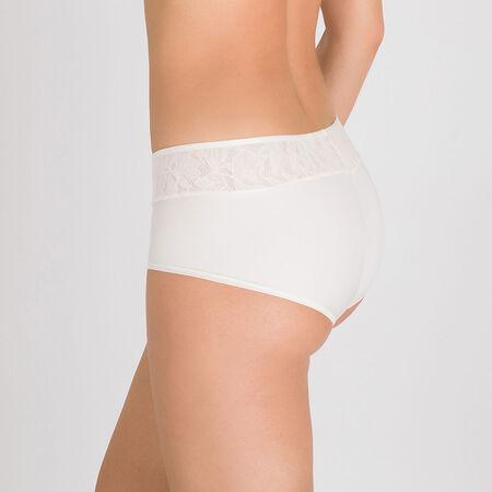 d9283d13a21d5d Shorty in White Blush - Ideal Beauty Lace