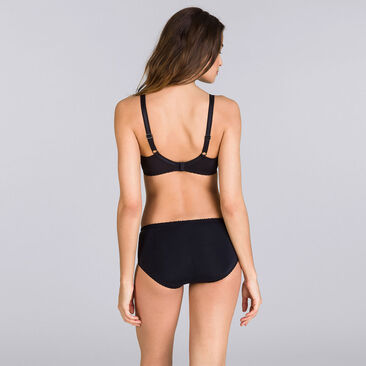 Midi Brief in Black – Classic Lace Support-PLAYTEX