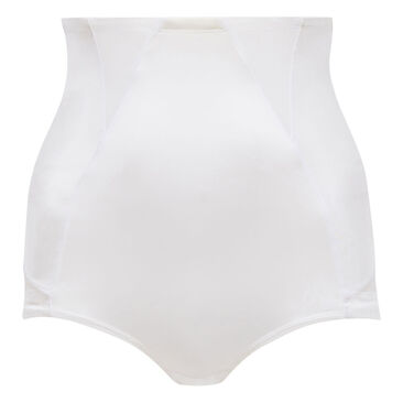 High-Waisted Girdle in White– Perfect Silhouette-PLAYTEX