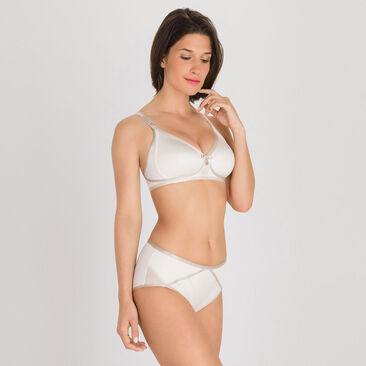 Non-wired Bra in Antique White - Ideal Beauty-PLAYTEX