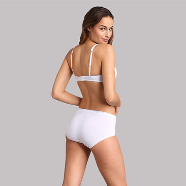 Full cup bra with removable underwires in white - 24h Absolute Soft, , PLAYTEX