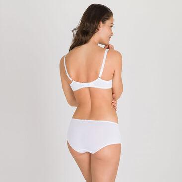 Shorty in White – Flower Elegance-PLAYTEX