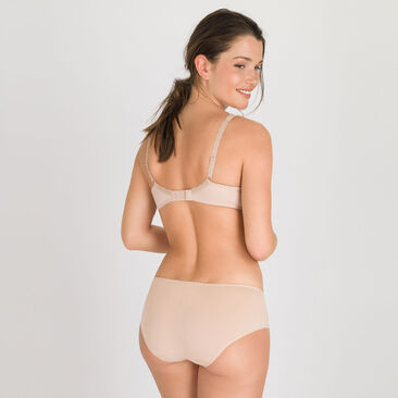 Midi Brief in Skin Tone – Flower Elegance-PLAYTEX
