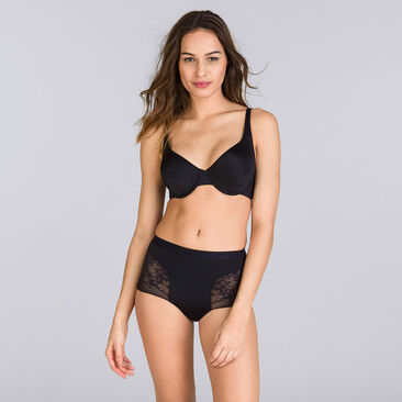 Black Maxi brief - Expert in Silhouette-PLAYTEX