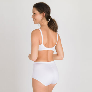 Shaping Maxi Brief in White – Perfect Silhouette, , PLAYTEX