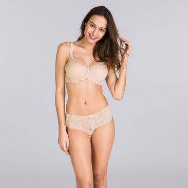 Spacer Bra in Skin tone – Flower Elegance-PLAYTEX