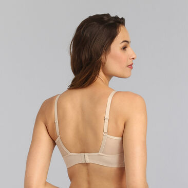 Non-wired bra in light brown Perfect Harmony, , PLAYTEX