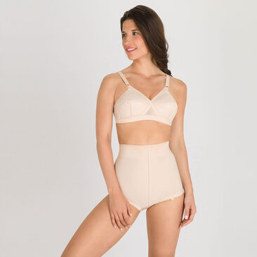 High-Waisted Girdle in Nude – ICBIAG, , PLAYTEX