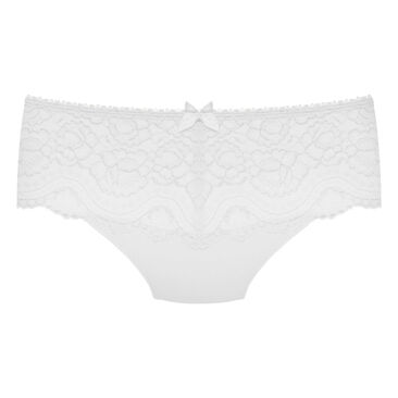 Midi Brief in White – Flower Elegance-PLAYTEX