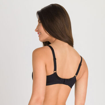2 non-wired Bras in Black – Basic Micro Support-PLAYTEX