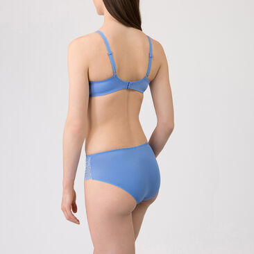 Midi Brief in Blue – Flower Elegance-PLAYTEX