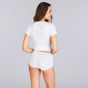White Maxi brief - Basic Cotton Lift-PLAYTEX