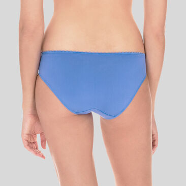 Mini Brief in Blue – Flower Elegance-PLAYTEX