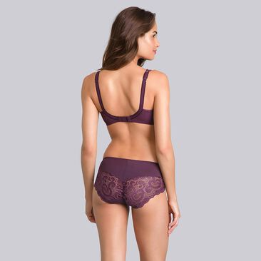 Black plum underwired bra - Invisible Elegance-PLAYTEX
