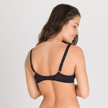 Foulard Bra in Black – Invisible Elegance-PLAYTEX