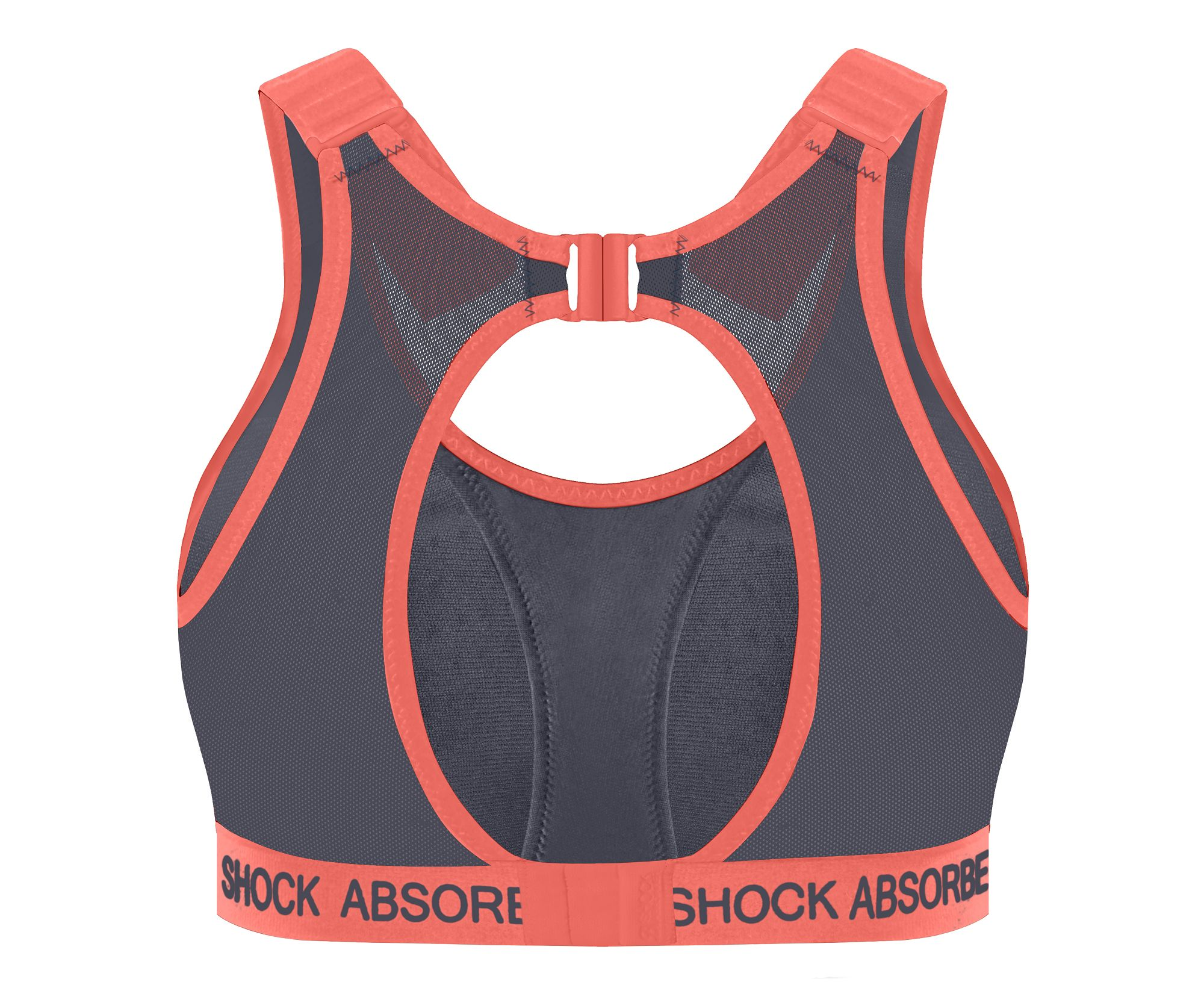 Run padded sports bra Shock Absorber, , DIM