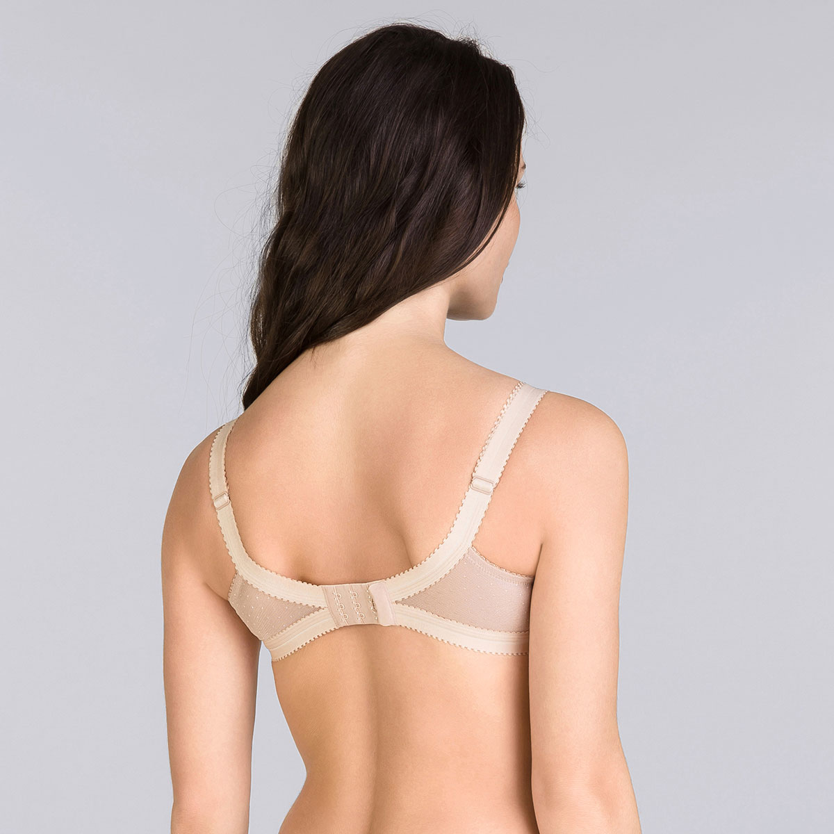 7432babc59 Beige non-wired bra - Cross your Heart Lace-PLAYTEX