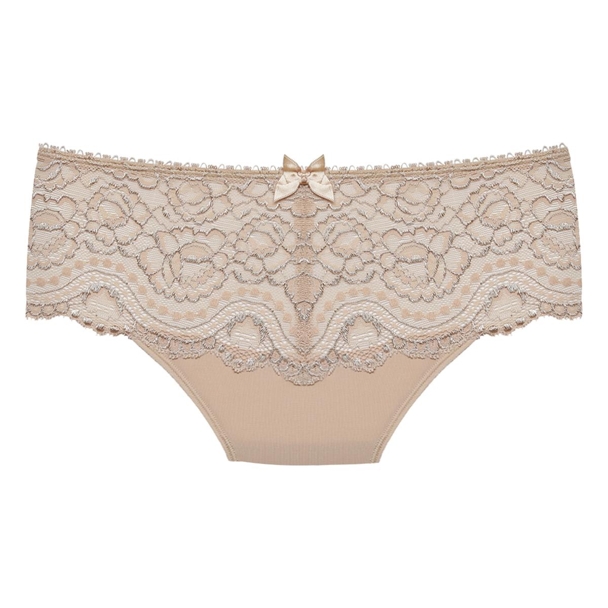 Midi knickers in beige – Flower Elegance, , PLAYTEX