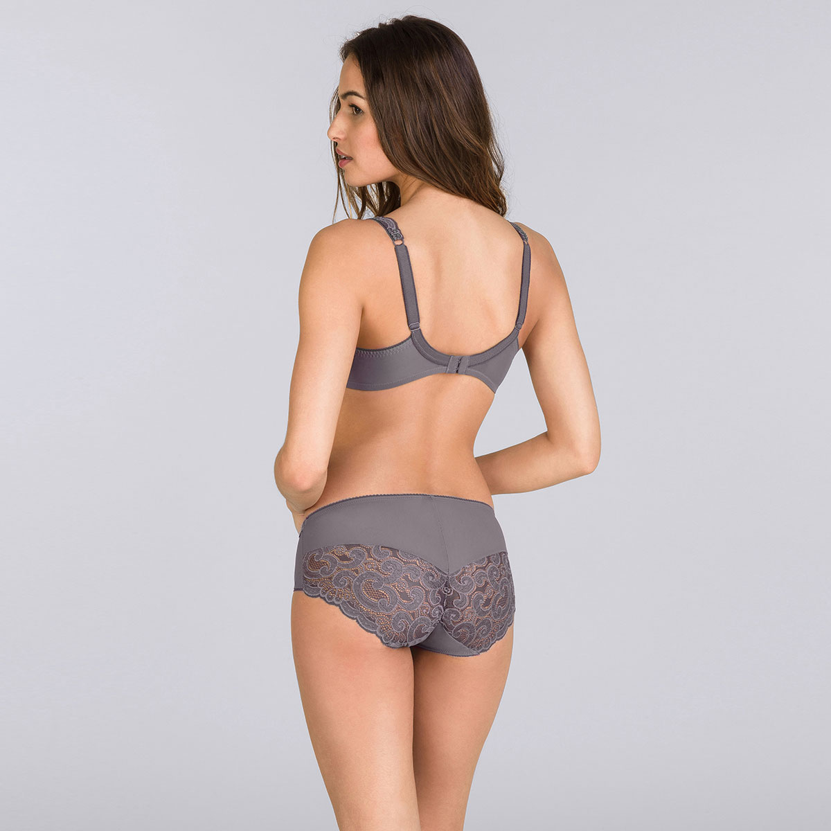 Midi Brief in Grey – Invisible Elegance-PLAYTEX