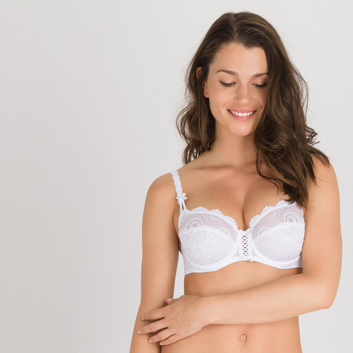 901d3dfcb9 Full Cup Bra in White – Flower Elegance