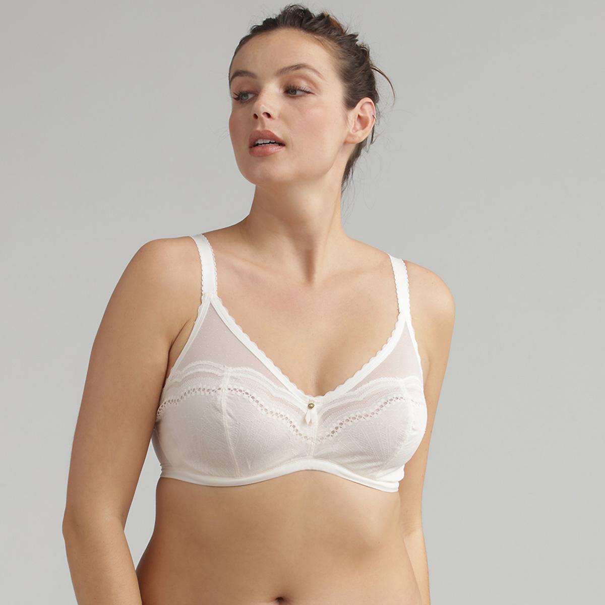 Underwired bra in ivory - Secret Comfort , , PLAYTEX