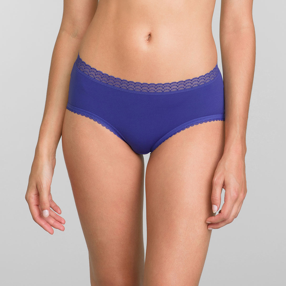 Midi Knickers in Sami Blue Invisible Elegance, , PLAYTEX