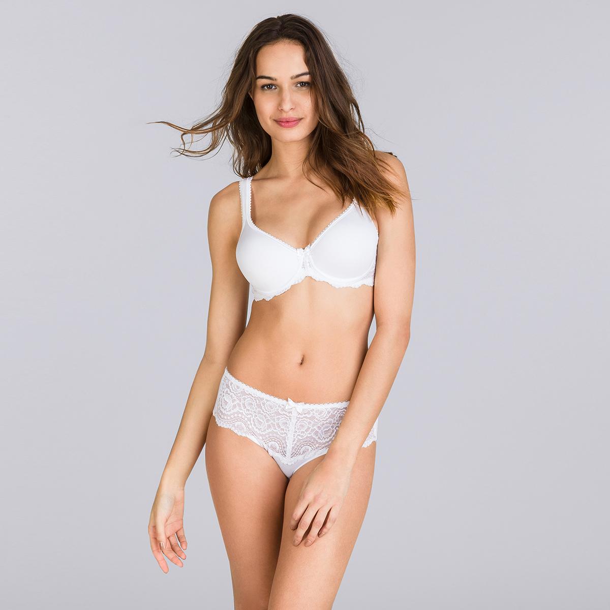 Spacer Bra in White – Flower Elegance, , PLAYTEX