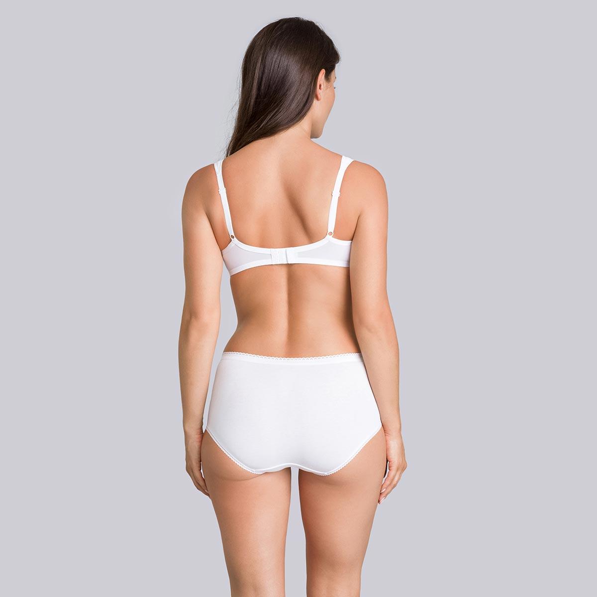 Minimiser Bra in White - Expert in Silhouette-PLAYTEX