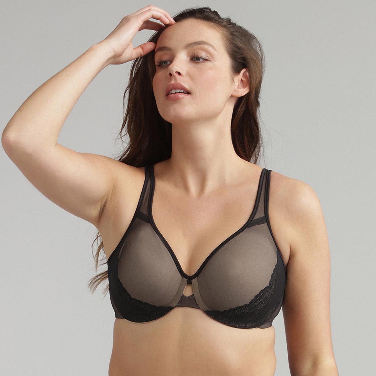 Minimiser bra in black Expert In Silhouette, , PLAYTEX