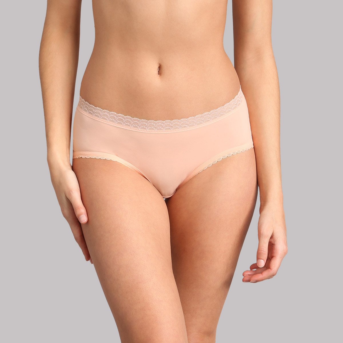 Midi knickers in sea salt pink - Invisible Elegance, , PLAYTEX