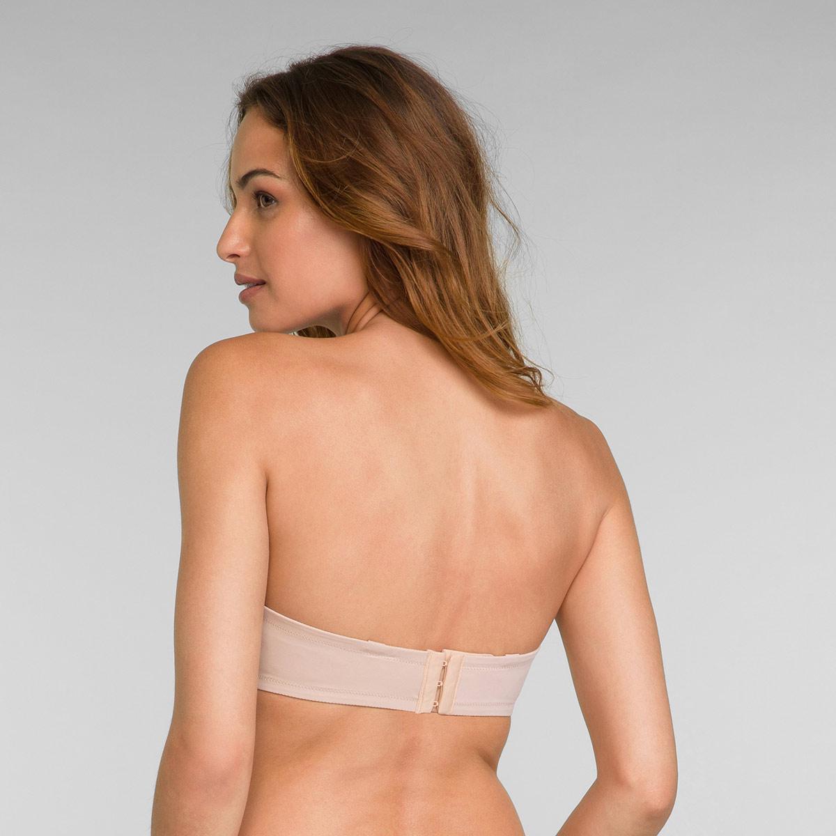 Strapless Bra in Nude Flower Elegance, , PLAYTEX