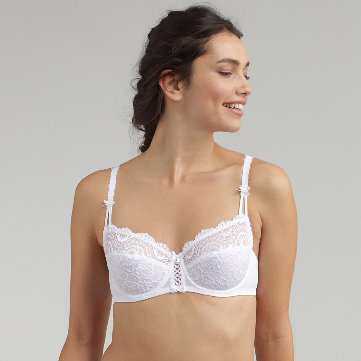 Balcony bra in white Flower Elegance, , PLAYTEX