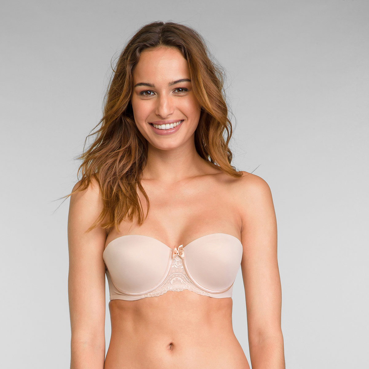Strapless Bra in Nude Flower Elegance, , PLAYTEX