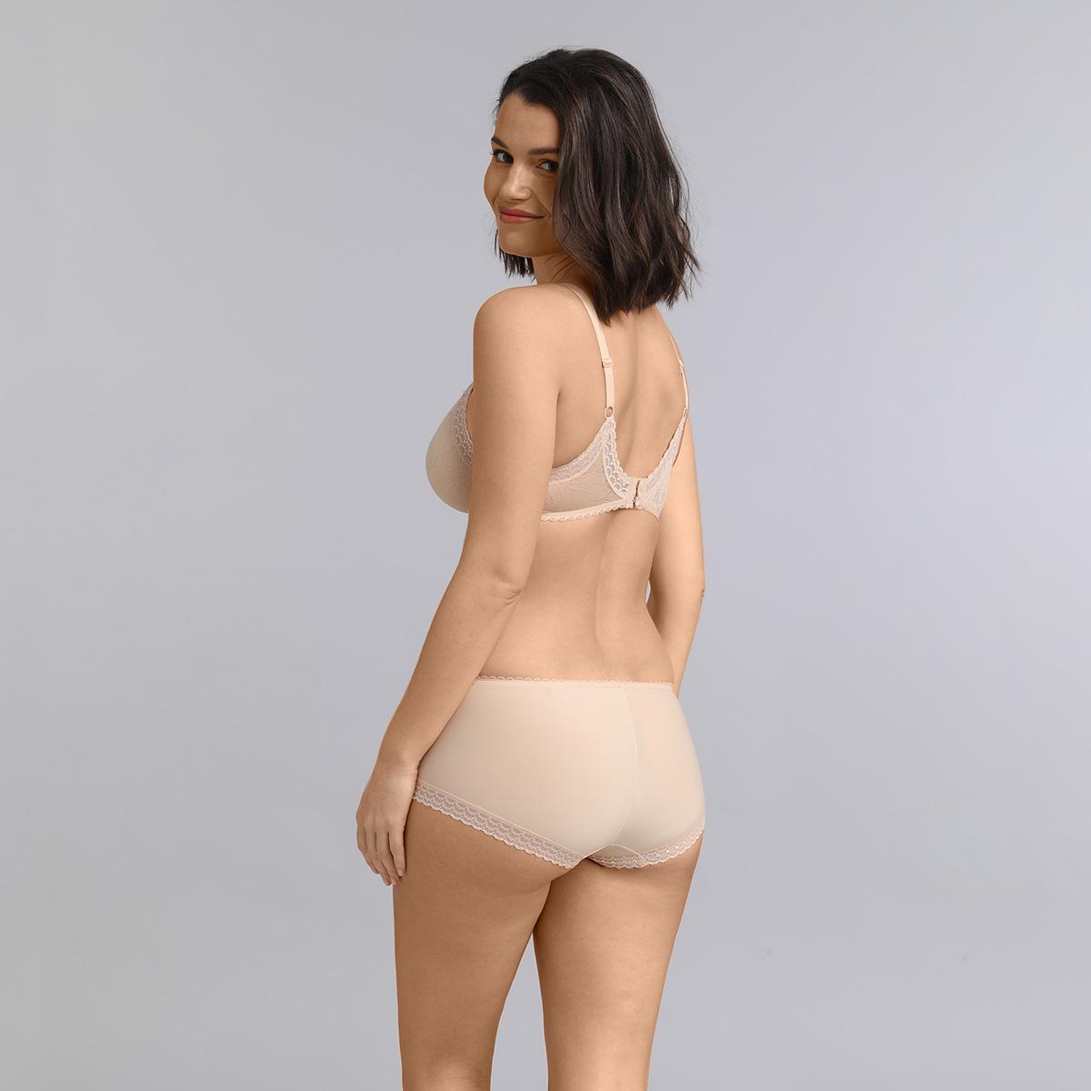 Underwired triangle bra in beige Invisible Elegance, , PLAYTEX