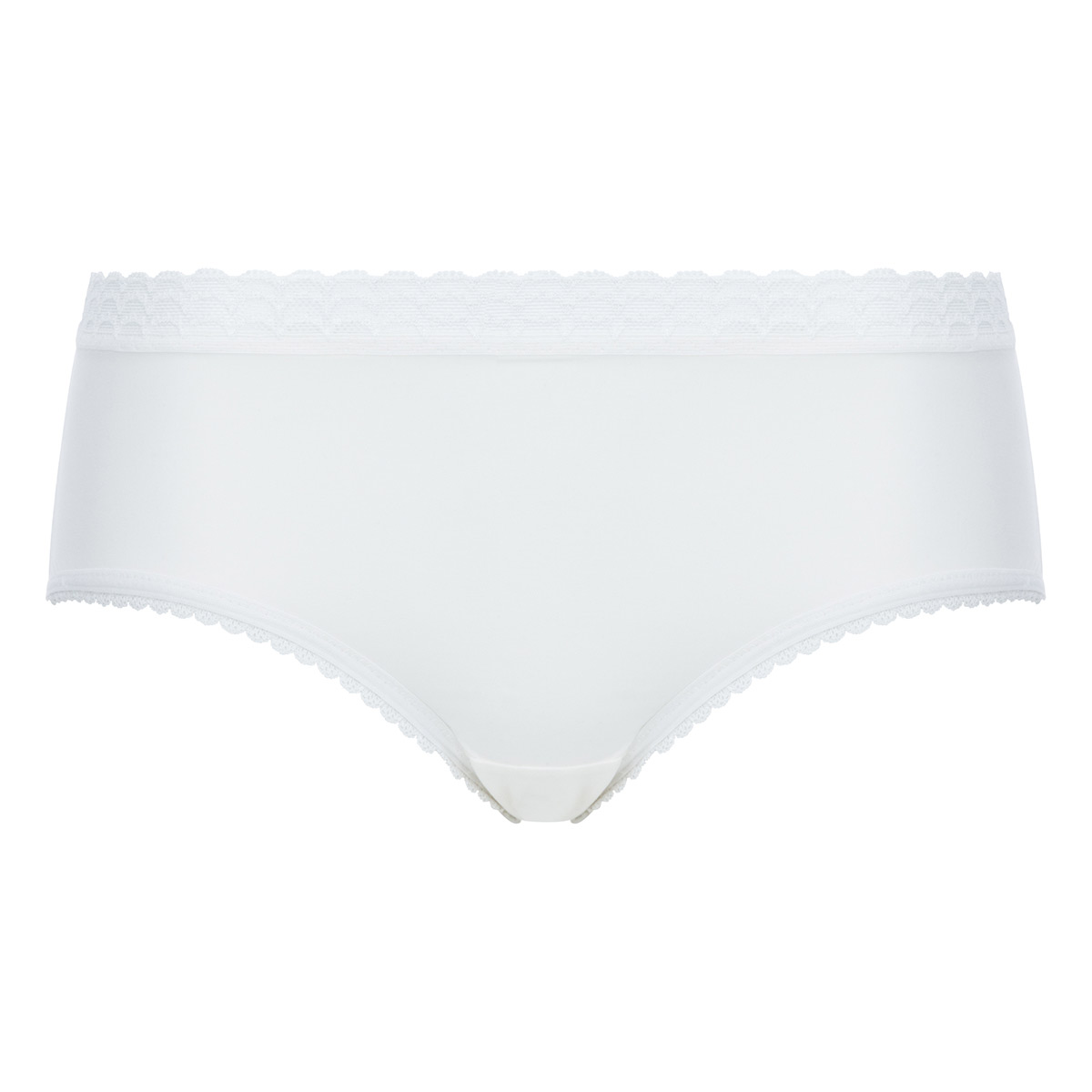 Midi Knickers in Antique White Lace - Invisible Elegance, , PLAYTEX